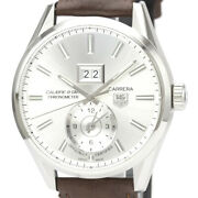 Auth Tag Heuer Watch Carrera Gmt War5011 Cal.8 Automatic Case 41mm Date F/s