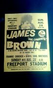 James Brown Boxing Style Concert Flyer 1966 Us Funk Soul Rand039nand039b Poster
