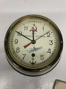Soviet Russian Vostok Boat/ship Submarine Navy Cabin Antimagnetic Clock With Key