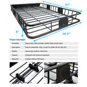 Roof Top Rack Basket Storage Carrier +extension Combo For Mariner Mountaineer