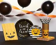 American Greetings Halloween Party Bundle, Plates, Cups, Napkins, Balloons, Stre