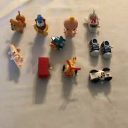Vintage Tomy Ramp Walkers And Wind Up 1970's Lot Of 10