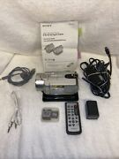 Sony Handycam 40gb Dcr-sr200 Hdd Camcorder Night Vision With Accessories Tested