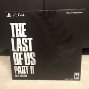 The Last Of Us Part 2 Ii Ellie Edition Playstation 4 Ps4 In Hand Ready To Ship
