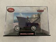 Disney Store Cars 2 Dracula Mater Diecast 143 Scale Collector's Case New