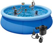 10ft Swimming Pools Aboveandnbspground - Inflatable Pool With Air Pump In Funny Summe
