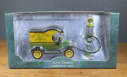 John Deere Collectors 1912 Ford Model T Delivery Truck And 1920's Wayne Gas Pump
