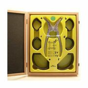 Ulmia Miter Clamp Set With Wooden Box