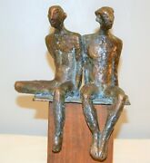 Signed Gail Cassilly Soliwoda Saltwater St.louis City Museum Bronze Sculpture