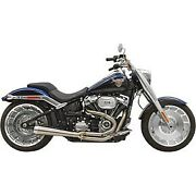 Bassani Stainless Road Rage Iii Short 21 Exhaust For 18-20 Fxbr/flfb And 19 Fxdr