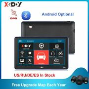 Xgody Android/wince Gps 7'' Truck Car Navigation 1gb+16gb/256m+8gb Capacitive