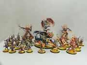 Warhammer - Age Of Sigmar - Sylvaneth Army - Pro Painted - Competitive List
