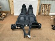 2005 Maserati Coupe Gt Blue Seat Front Back Front Console Some Wear