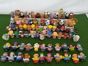 Lot Of 85 Fisher Price Little People Figures And Animals Farm Zoo Baby Noah 2000+