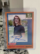 2021 Topps X Trevor Lawrence Rookie Auto 1-a On Card Auto 65/99 Pack Fresh.