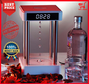 Levitating Water Drop Anti Gravity Time Hourglass Fountain Office Home Watch