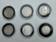 Russia And Soviet Ussr Rsfsr Silver Coins Collection Ruble Poltinnik Kopeek