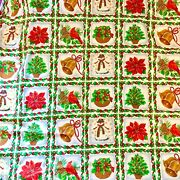 Christmas Fabric Bell Holly Snowman Floral Oakhurst Textiles 5 Yard Lot