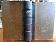 Journal Of Missionary Tour To Texas 1857 Domenech French Book W/ Large Texas Map