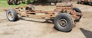 1940 Chevy Car Coupe Frame Chassis 40 Sedan Rolling Project