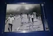 Kim Phuc Autographed Bas Beckett Authenticated Vietnam And039napalm Girland039 8x10 Photo