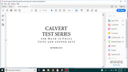 Sixth 6th Grade Calvert Home School Singapore Math In Focus Tests And Answer Keys