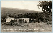 Postcard Ny Schroon Lake Whispering Pines Lodge Private Lake Rppc Photo Ab13
