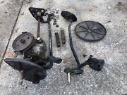 John Deere Jx75 14sb Complete Transmission Am125473 With Front Axle