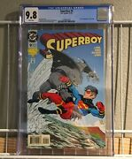 Superboy 9 Cgc 9.8 Nm/m Dc 1994 1st Appearance Of King Shark -suicide Squad 2