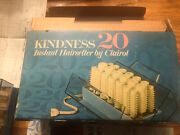 Clairol Kindness 20 Hair Setter Hot Rollers Curlers With Clips Model 761 Vintage