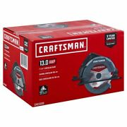 Craftsman Cmes500 13-amp 7-1/4 Inch Corded Circular Saw With Steel Shoe New