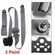 Car Vehicle Adjustable Retractable 3 Point Safety Seat Belt Straps Accessories