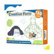 Kids-fort-building-kits-130 Pieces-creative Fort Toy For 567 Years Old Boy ...