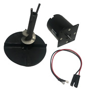 New Salt Spreader Kit With Motor Hub Lead Wire Auger Spinner Meyer Buyers