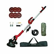 Drywall Sander, Smadron 6a 750w Wall/ceiling Sander With Vacuum System, 800-1...