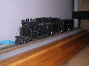 Brass Overland 1503 Reading P5 4-4-2 Camelback Steam Loco 301 H.o.scale 1/87