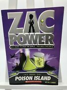 Zac Power Mission Poison Island Book By H.i. Larry