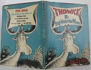 Seuss Dr / Thidwick The Big-hearted Moose Signed 1st Edition 1948 1706011