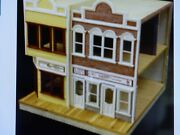 Main Street Shoppe 1 Inch Scale Dollhouse Kit By Majestic Mansions