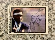 1999 Upper Deck Ud Retro Walter Payton On Card Auto Wp1 Autograph Chicago Bears
