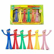 Nj Croce The Many Moods Of Gumby 6 Inch Bendable 6 Piece Box