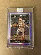 2019/20 Panini One And One Stephen Curry Warriors Card 76 Purple Sealed 'd 4/20