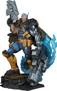 Marvel X-men Cable Premium Format Figure By Sideshow Collectibles Statue