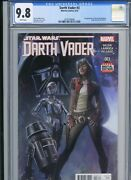 Darth Vader 3 - Cgc 9.8 - Key - 1st Appearance Of Doctor Aphra - Marvel - 2015
