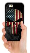 Punisher Usa American Flag Case For Iphone Xs 11 12 Mini Pro Max Xr 5 6 7 8 Plus
