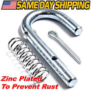 Deck Release Pin And Spring Fits Cub Cadet Rzt-l42 Rzt-l46 Rzt-l50 Rzt-l54 Rzt