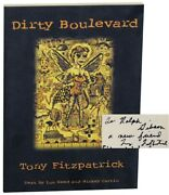 Tony Fitzpatrick, Lou Reed / Dirty Boulevard Signed First Edition 1998 151092