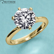 8350 1.01 Carat Solitaire Diamond Engagement Ring Yellow Gold I1 22951428