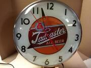 Rare Vintage Worcester Mass. Brewing Co Tadcaster Ale Telechron Clock 40s-50s