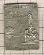 Great Pads Bronze Silver Emile Size These Are A Paris Henry Nocq 1918